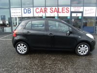 USED 2007 07 TOYOTA YARIS 1.3 L ZINC 5d 86 BHP FREE 12 MONTHS RAC WARRANTY AND FREE 12 MONTHS RAC BREAKDOWN COVER