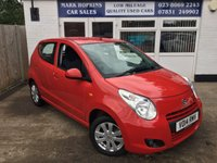 USED 2014 14 SUZUKI ALTO 1.0 SZ4 5d 68 BHP EXTREMELY LOW MILEAGE 1K FSH  ONE MATURE OWNER  EXCELLENT