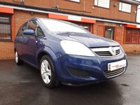 USED 2009 09 VAUXHALL ZAFIRA 1.6 EXCLUSIV 5d  7 SEAT - JUST BEEN SERVICED