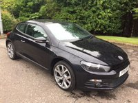 USED 2011 11 VOLKSWAGEN SCIROCCO 2.0 GT TDI PAN ROOF 2d 170 BHP AUTO 6 MONTHS PART AND LABOUR WARRANTY