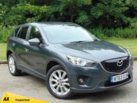 USED 2014 63 MAZDA CX-5 2.2 D SPORT NAV 5d 148 BHP 128 POINT AA INSPECTED