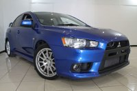 USED 2011 11 MITSUBISHI LANCER 2.0 EVOLUTION X GSR SST FQ300 4DR 291 BHP FULL MITSUBISHI SERVICE HISTORY + RECARO SPORT SEATS + BREMBO BRAKES + SAT NAVIGATION + BLUETOOTH + CRUISE CONTROL