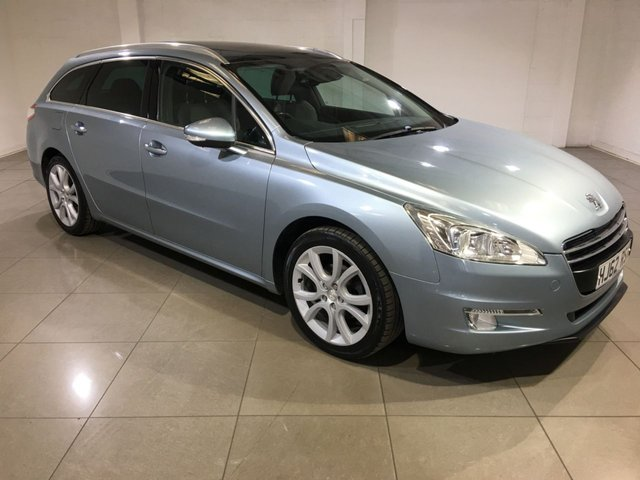 View our 2012 62 PEUGEOT 508 1.6 E-HDI SW ALLURE 5d AUTO 115 BHP