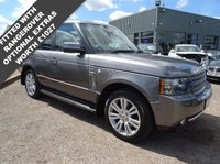 USED 2009 LAND ROVER RANGE ROVER 3.6 TDV8 VOGUE SE 5d AUTO 271 BHP 8 SERVICE STAMPS MAY 2018 MOT SERVICED AT 15081 2973344842 55061 55070 6691975297 AND 83729 MILES WITH TWO KEYS
