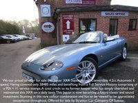 USED 2004 54 JAGUAR XKR 4.2 XKR CONVERTIBLE 2d AUTO 400 BHP