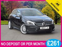 USED 2015 64 MERCEDES-BENZ A CLASS 1.6 A200 BLUEEFFICIENCY AMG SPORT 5dr 156 BHP FULL MERCEDES SERVICE HISTORY