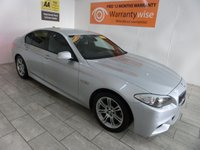 2011 BMW 5 SERIES 2.0 520D M SPORT 4d AUTO 181 BHP £11995.00