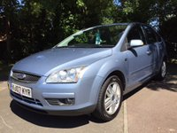 USED 2007 07 FORD FOCUS 2.0 GHIA 5d 144 BHP