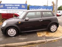 USED 2011 61 MINI HATCH FIRST 1.6 FIRST 3d 75 BHP 3 Stamps Of Service History . 1 Owner Car . New Mot & Full Service Done On Collection . 2 Years Free Mot & Full Service Included . 3 Months Russell Ham In House Quality warranty . Finance Arranged At Good Rates . Credit Cards accepted . Spare Key .