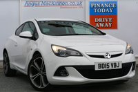 USED 2015 15 VAUXHALL ASTRA 1.4 GTC LIMITED EDITION S/S 3d 138 BHP STUNNING CONDITION, LOCALLY OWNED