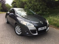 2010 RENAULT MEGANE 1.9 PRIVILEGE TOMTOM DCI 3d 130 BHP PLEASE CALL TO VIEW £5000.00