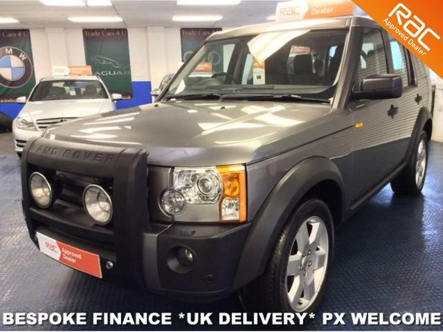 2007 07 LAND ROVER DISCOVERY 3 2.7 TDV6 HSE 7 SEATER 4WD
