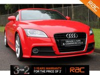 USED 2012 12 AUDI TT 1.8 TFSI S LINE 2d 158 BHP A STUNNING EXAMPLE WITH A FULL AUI SERVICE HISTORY AND TOUCHSCREEN MEDIA UNIT!!!