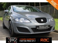 "USED 2011 11 SEAT LEON 1.6 CR TDI S 5d 103 BHP A STUNNING LEON WITH FULL HISTORY AND UPGRADED 18"" GLOSS BLACK ALLOY WHEELS!!!"