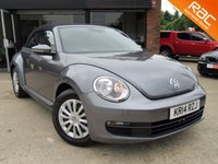 USED 2014 14 VOLKSWAGEN BEETLE 1.2 TSI 3d 103 BHP AIR CONDITIONING, RAC INSPECTED, FULL SERVICE HISTORY, SPARE KEY