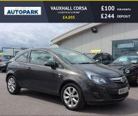 USED 2014 64 VAUXHALL CORSA 1.4 EXCITE AC 3d 98 BHP LOW DEPOSIT OR NO DEPOSIT FINANCE AVAILABLE.