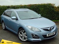 USED 2012 12 MAZDA 6 2.2 D SPORT 5d * 128 POINT AA INSPECTED *