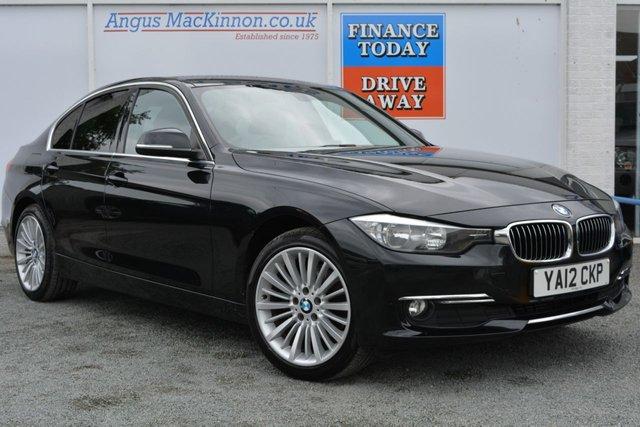 2012 12 BMW 3 SERIES 2.0 320D LUXURY 4d 184 BHP