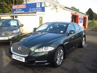 USED 2012 12 JAGUAR XJ 3.0 D V6 LUXURY SWB 4d AUTO 275 BHP OVER £2700 OF OPTIONAL EXTRAS - ALLOY WHEEL UP GRADE