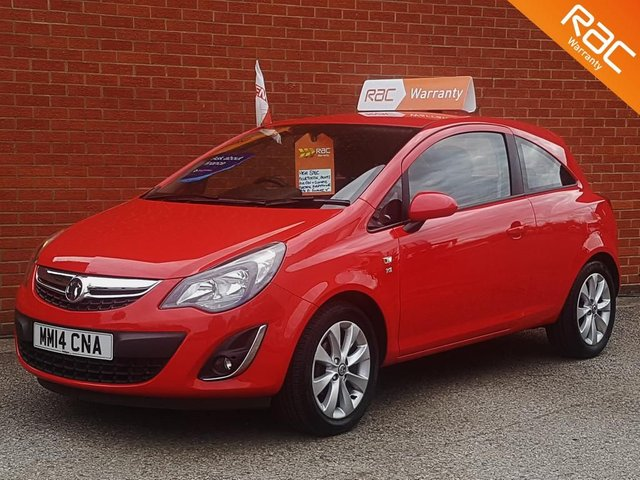 2014 14 VAUXHALL CORSA 1.2 EXCITE AC **HUGE SPEC**