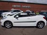 USED 2013 13 PEUGEOT 207 1.6 CC ACTIVE 2d 120 BHP 1 OWNER ELECTRIC ROOF