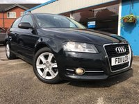 USED 2011 11 AUDI A3 1.6 TDI SE 3d 103 BHP AIR CON, FULL SERVICE HISTORY