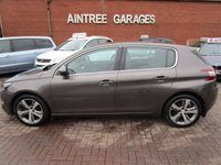 USED 2014 14 PEUGEOT 308 1.6 E-HDI ALLURE 5d 114 BHP 1 OWNER FULL DEALER HISTORY