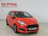 USED 2016 66 FORD FIESTA 1.0 ST-LINE 3d 100 BHP with Sat Nav + Privacy Glass