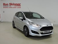 USED 2016 66 FORD FIESTA 1.0 ST-LINE 3d 100 BHP with Sat Nav + Privacy Glass + Auto Wipers
