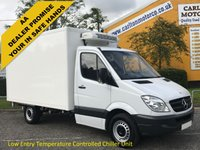 USED 2013 13 MERCEDES-BENZ SPRINTER 313 CDI Refrigerated-Fridge-Chiller Box Lwb van+ Standby Low Mileage Free UK Delivery