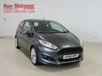 USED 2016 66 FORD FIESTA 1.0 ZETEC S 3d 124 BHP with Sat Nav