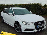 USED 2014 14 AUDI A6 2.0 AVANT TDI ULTRA S LINE BLACK EDITION 5d AUTOMATIC * 128 POINT AA INSPECTED *