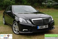 USED 2011 61 MERCEDES-BENZ E CLASS E350 BLUEEFFICIENCY 3.0 CDi SPORT ED125 AUTO [265 BHP]