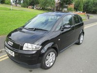 USED 2002 52 AUDI A2 1.4 1.4 5d 74 BHP MOT TILL MAY 2018 - LOTS OF SERVICE HISTORY - GOOD CONDITION