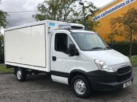 USED 2013 13 IVECO-FORD DAILY 35S11 2.3hpi  Insualted Hubbard Chiller- Fridge / Freeze Box van Free UK delivery