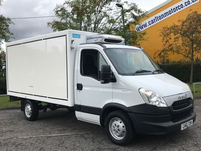 2013 13 IVECO-FORD DAILY 35S11 2.3hpi  Insualted Hubbard Chiller- Fridge / Freeze Box van ## MASSIVE SAVINGS NOW PRICE SLASHED ##