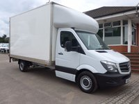 USED 2013 63 MERCEDES-BENZ SPRINTER 313 CDI LWB LUTON TAILIFT, 130 BHP [EURO 5], FULL SERVICE HISTORY, AIR CONDITIONING