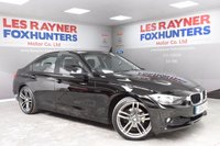 USED 2014 14 BMW 3 SERIES 2.0 320D EFFICIENTDYNAMICS BUSINESS 4d 161 BHP Full BMW Service History, Sat Nav , Full Leather