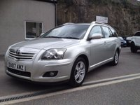 USED 2007 07 TOYOTA AVENSIS 2.2 T3 X D-4D 5d 148 BHP *GOOD TYRES**PARKING SENSORS**MANUAL**DIESEL*