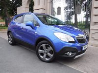 USED 2014 14 VAUXHALL MOKKA 1.7 SE CDTI S/S 5d 128 BHP ****FINANCE ARRANGED***PART EXCHANGE***1OWNER**BLUETOOTH***FULL LEATHER**FULL VAUXHALL SERVICE HISTORY**