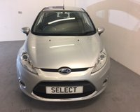 USED 2012 62 FORD FIESTA 1.2 ZETEC 3d 81 BHP Superb LOW MILEAGE example in Moondust Silver with Zetec alloys,air con,quick clear front screen-ONLY 56,000 miles, Must Be Viewed