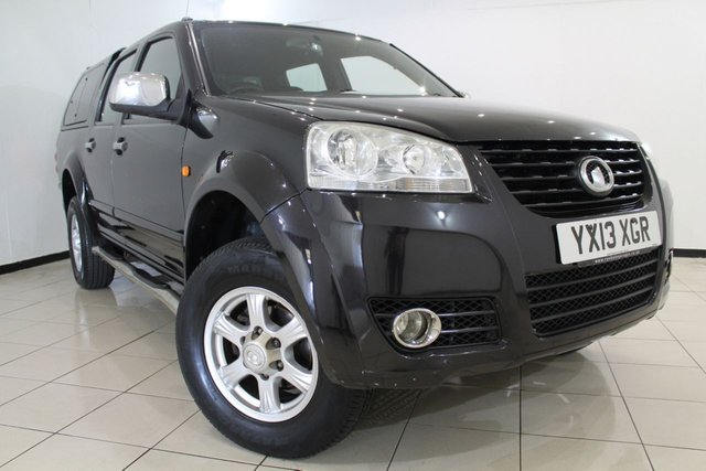 View our 2013 13 GREAT WALL STEED 2.0 TD SE 4X4 DCB 4DR 141 BHP