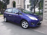 USED 2014 14 FORD GRAND C-MAX 1.6 GRAND ZETEC TDCI 5d 114 BHP ****FINANCE ARRANGED***PART EXCHANGE***1OWNER**BLUETOOTH***DAB RADIO***HEATED FRONT SCREEN**