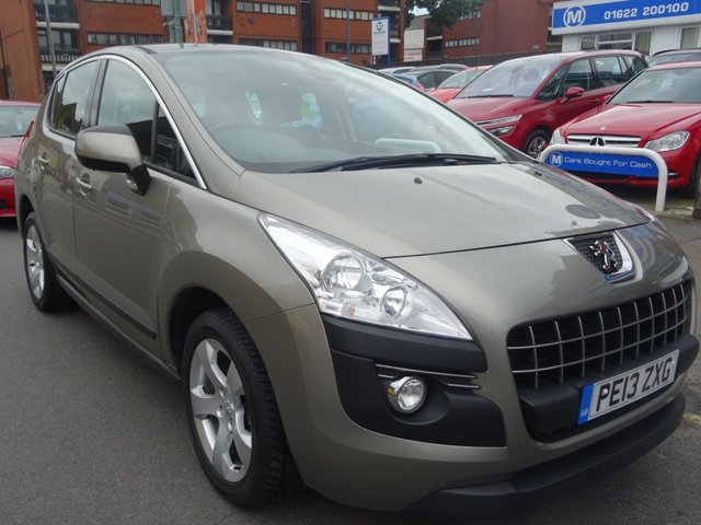 2013 13 PEUGEOT 3008 1.6 HDI ACTIVE 5d 115 BHP AMAZONITE GREY/GRAPHITE TRIM.