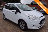 USED 2013 13 FORD B-MAX 1.0 ZETEC 5d 100 BHP Free 12 Month National Warranty Included