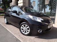 USED 2014 14 NISSAN NOTE 1.2 TEKNA DIG-S 5dr AUTO 98 BHP ****FINANCE ARRANGED***PART EXCHANGE***1OWNER***SAT NAV**BLUETOOTH**CRUISE CONTROL***