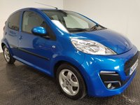 USED 2014 14 PEUGEOT 107 1.0 ALLURE 5d 68 BHP FSH-1 OWNER-LOW MILEAGE-ISOFIX-A/C
