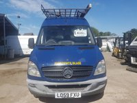 USED 2010 59 MERCEDES-BENZ SPRINTER 2.1 313 CDI MWB 1d 129 BHP 59 Reg High Roof MWB Blue