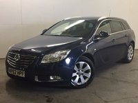 USED 2013 62 VAUXHALL INSIGNIA 2.0 SRI CDTI ECOFLEX S/S 5d 128 BHP PRIVACY PDC MOT 06/18 £30 YEAR ROAD TAX. 62 MPG. STUNNING BLUE MET WITH CONTRASTING BLACK CLOTH SPORTS TRIM. CRUISE CONTROL. 17 INCH ALLOYS. COLOUR CODED TRIMS. PRIVACY GLASS. PARKING SENSORS. BLUETOOTH PREP. CLIMATE CONTROL. R/CD PLAYER. 6 SPEED MANUAL. MFSW. MOT 06/18. PRISTINE CONDITION. FCA FINANCE APPROVED DEALER. TEL 01937 849492.