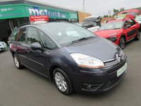 USED 2010 10 CITROEN C4 PICASSO 1.6 GRAND VTR PLUS HDI 5d 107 BHP 12 MONTHS MOT... 6 MONTHS WARRANTY.. 1 OWNER FROM NEW... FULL HISTORY